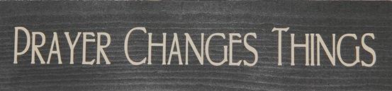 Prayer changes-things-black
